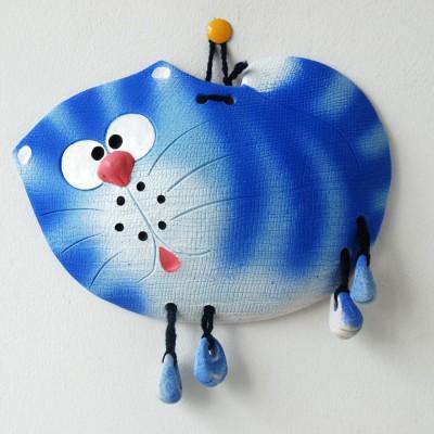 Голубая кошка